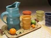 Alex Solla's pottery