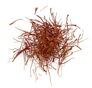 Saffron threads from Iran